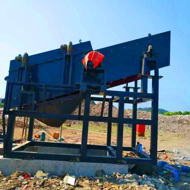垃圾集中处理分选机 铺装垃圾清理分离站