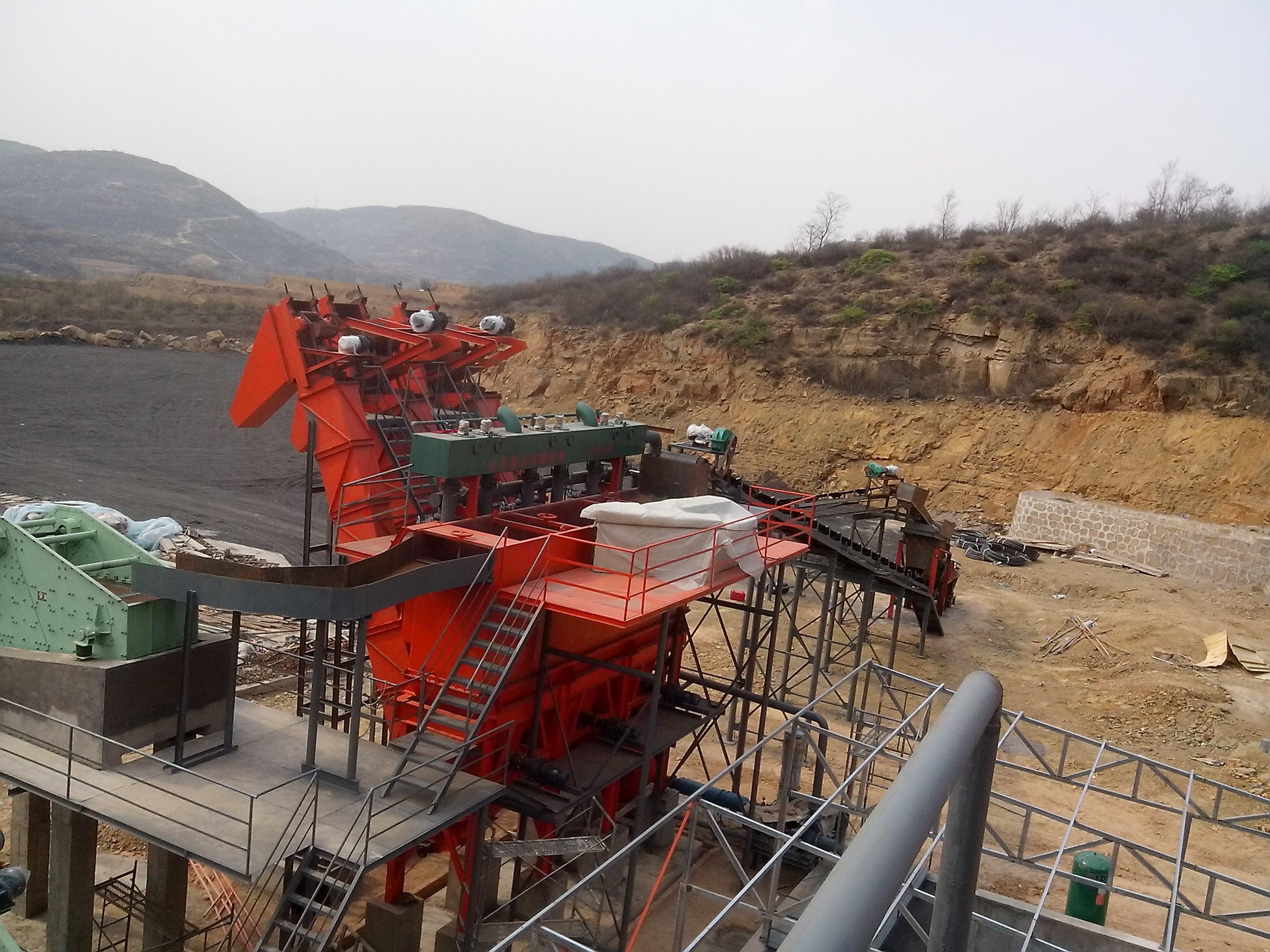 锰矿水洗选矿设备
