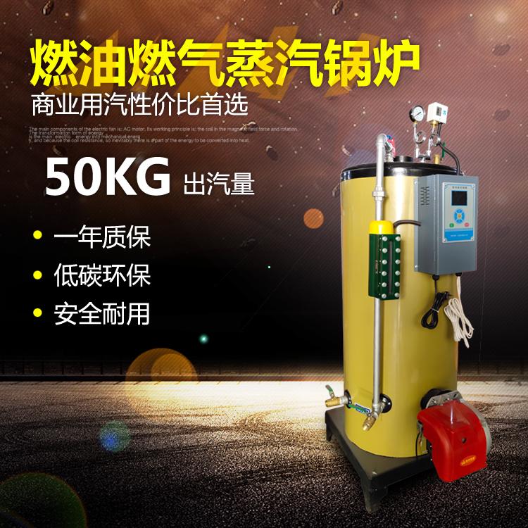 涂料加工反应釜加热0.05吨燃气蒸汽发生器
