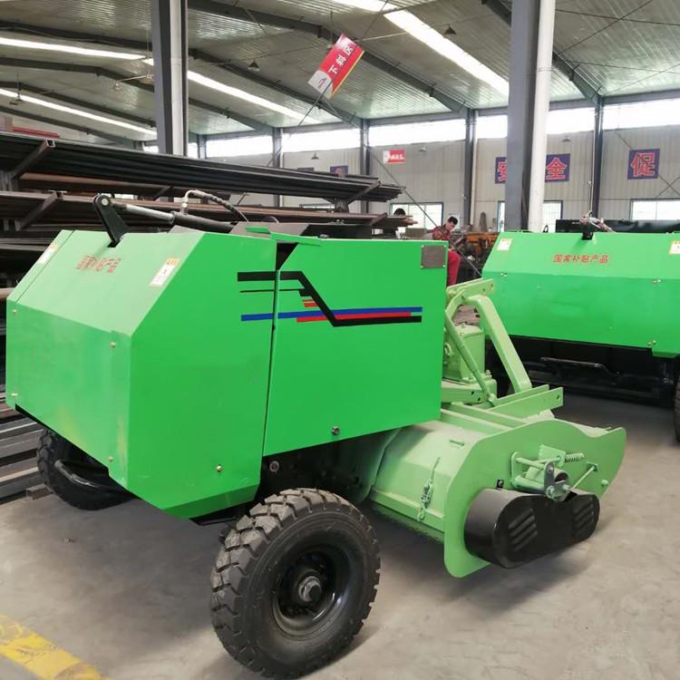 拖拉机带动的秸秆收获机械 小型秸秆回收打捆机价格 打捆机厂家