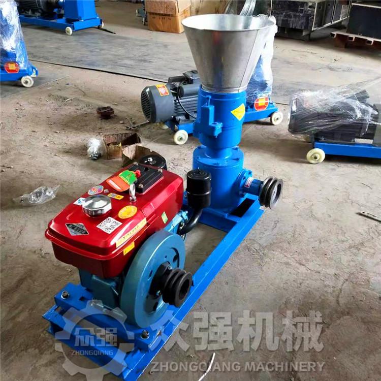 家用小型饲料颗粒机 养殖颗粒饲料机 玉米高粱挤压成型机