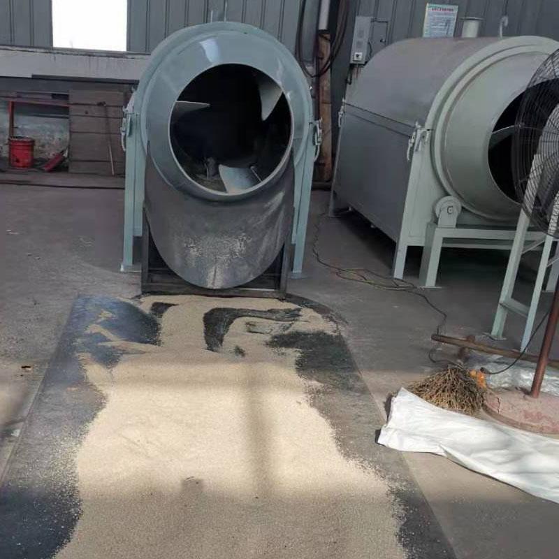 出售电加热滚筒烘干机 粮食回转滚筒干燥机 五谷杂粮烘干机