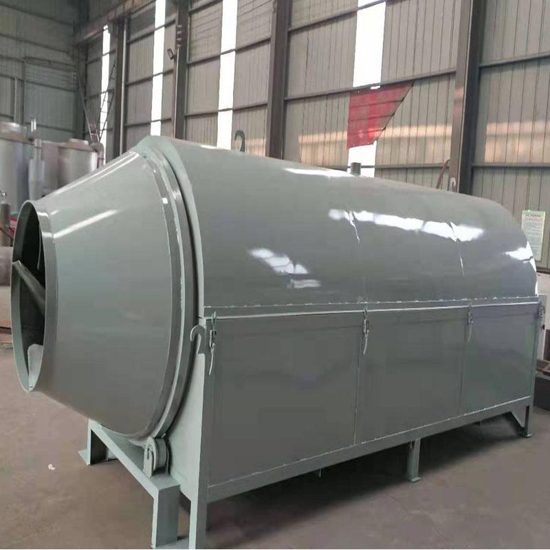 不锈钢全新滚筒烘干机 工业用转筒干燥机 节能锯末酒糟烘干机