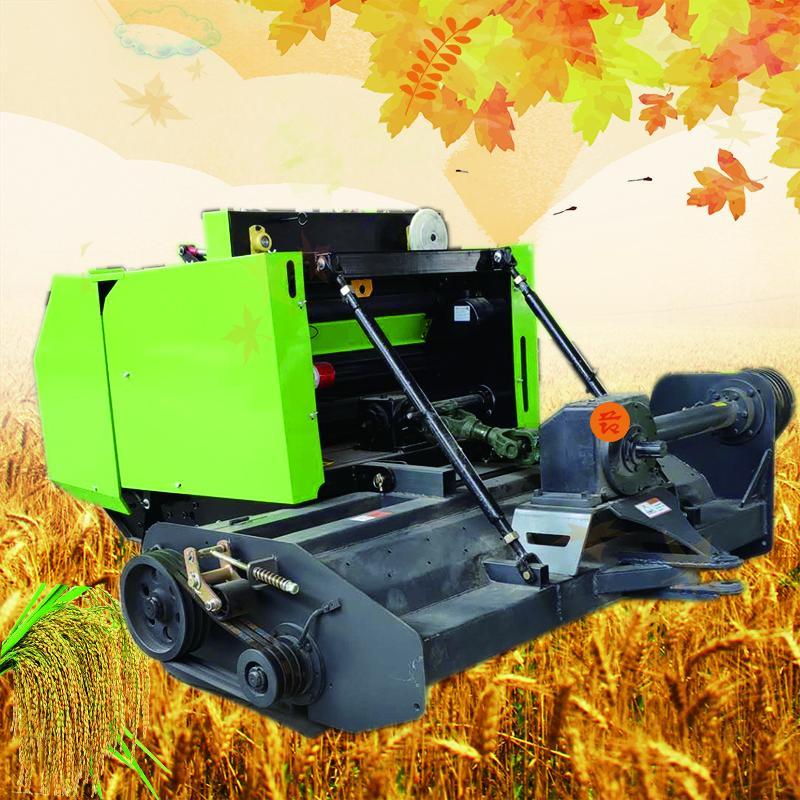 农用大型干湿鲜两用全自动秸秆收割捡拾粉碎打捆机柴油青贮打捆机