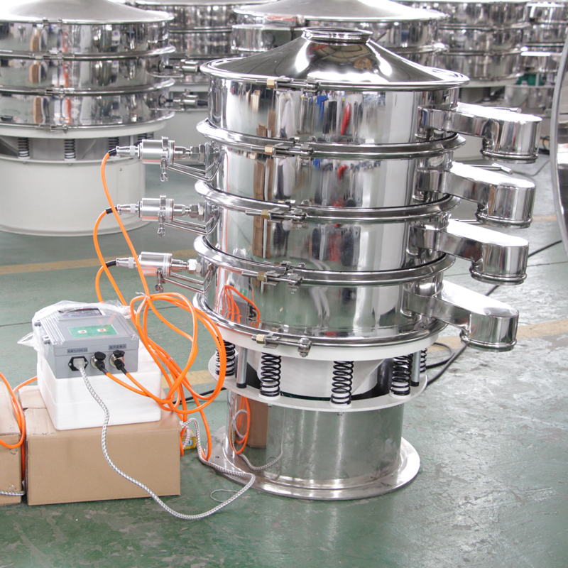 食品级不锈钢振动筛 食品超声波振动筛 食品粉末振动筛厂家直销