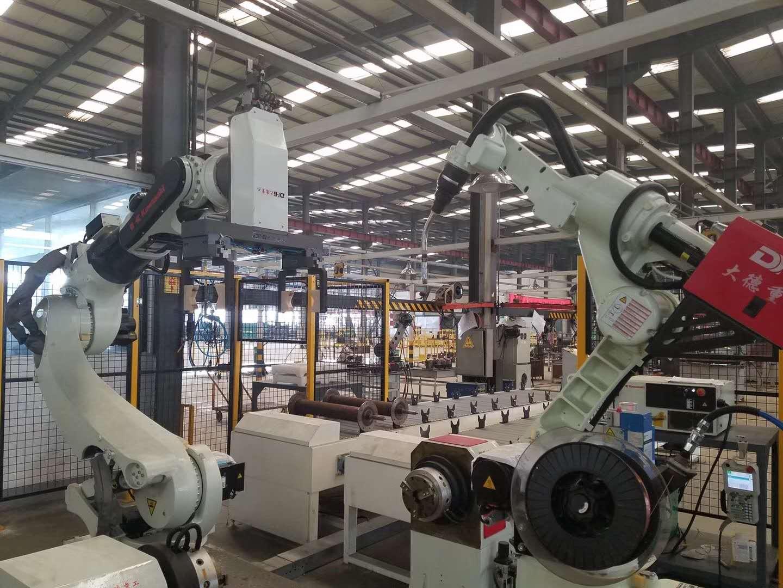 无锡弧焊机器人生产线集成