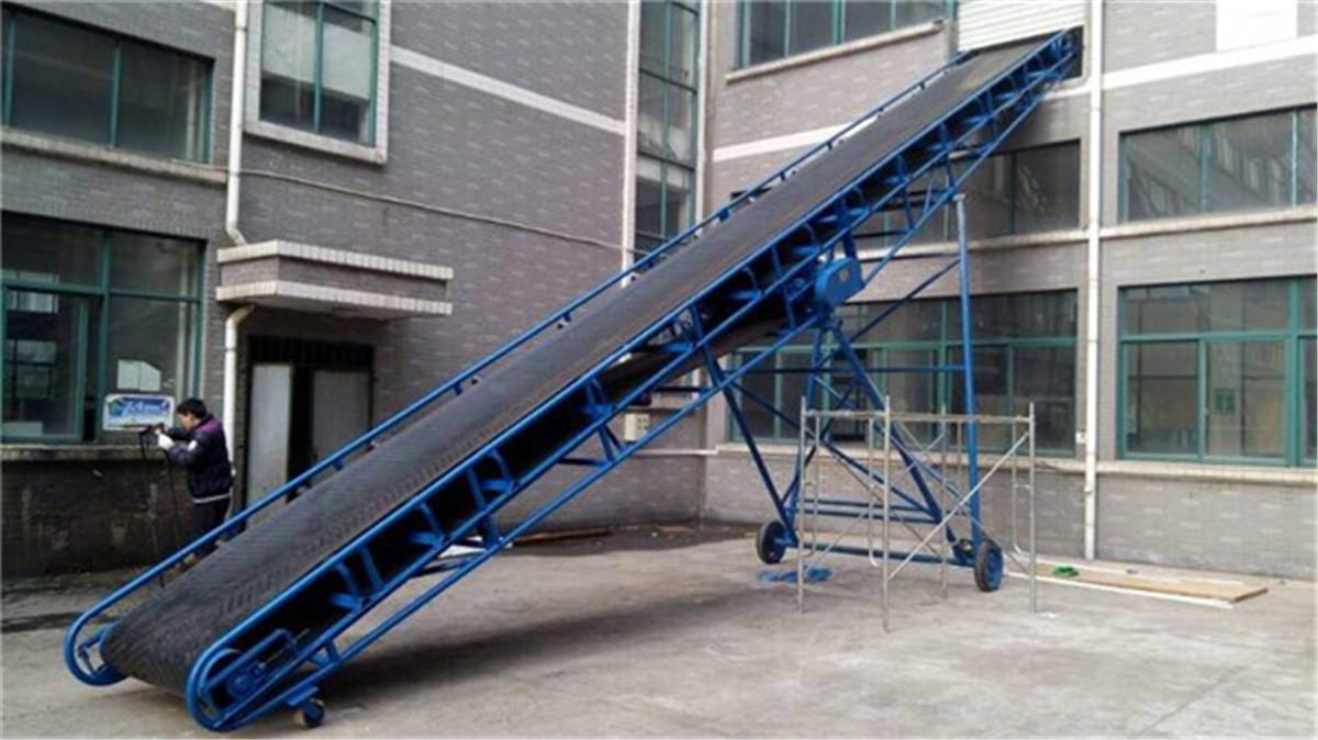 建筑垃圾皮带输送机