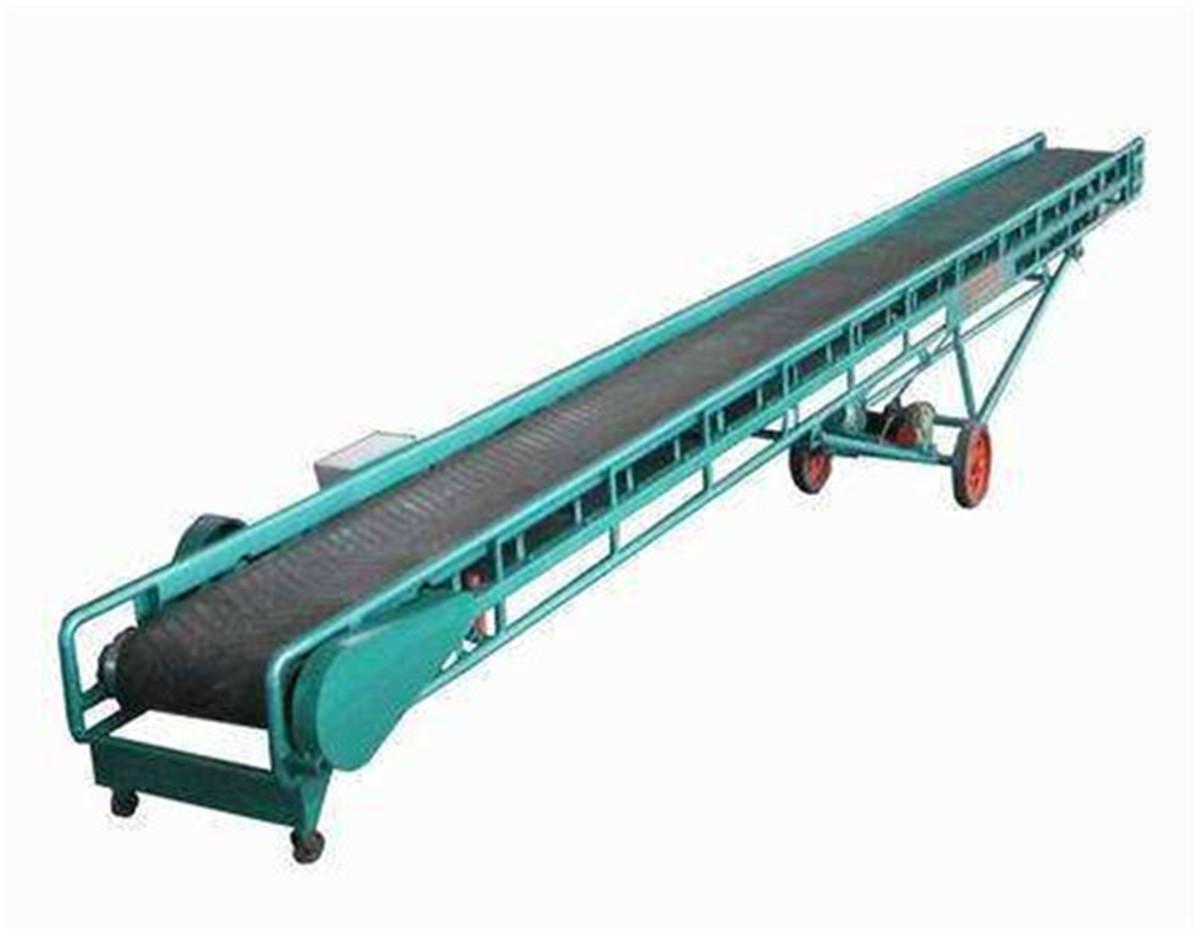 耐磨石块矿用行业皮带输送机