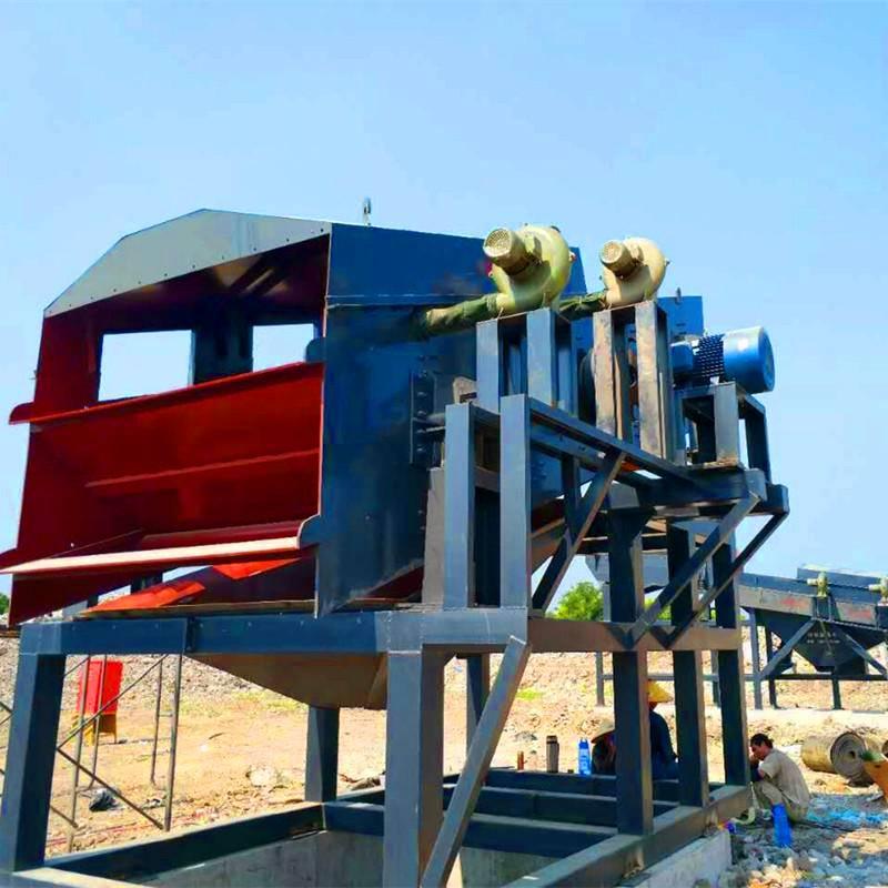 建筑垃圾移动破碎站 破碎机厂家 建筑垃圾分拣设备