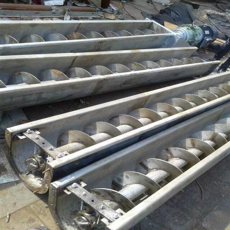 混凝土配料螺旋输送机