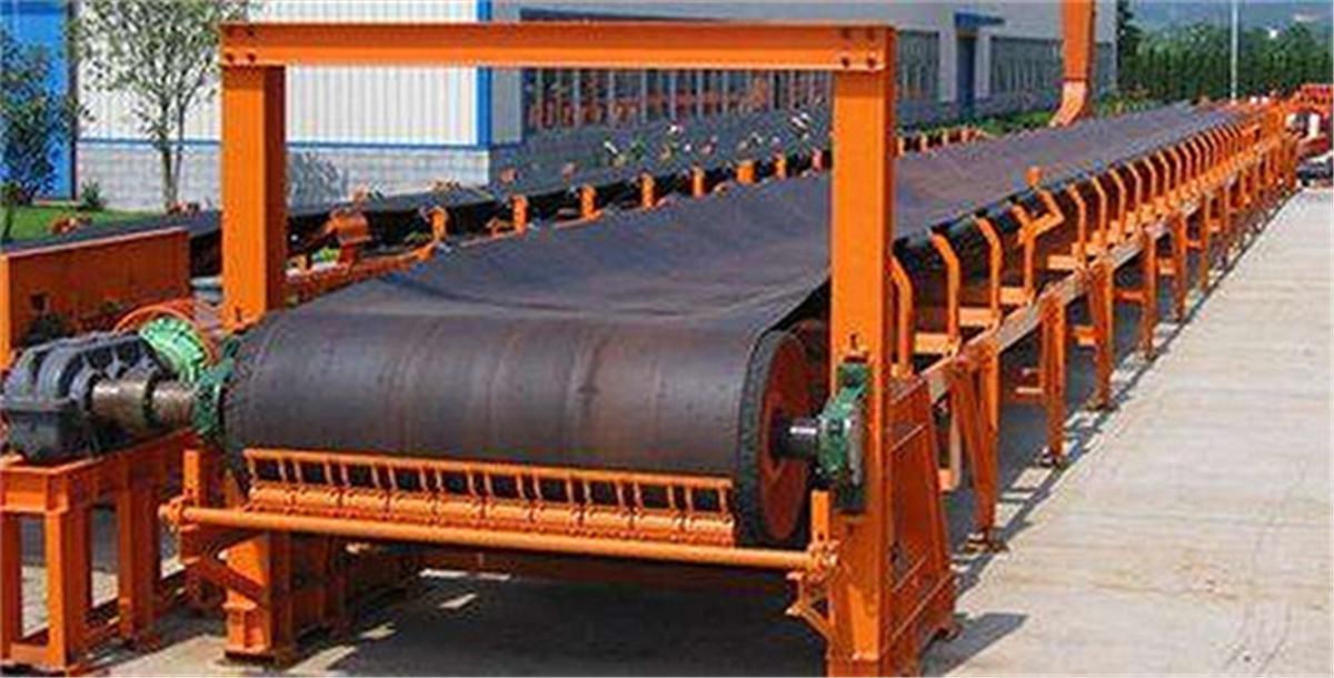 粮食上包堆垛专用皮带输送机