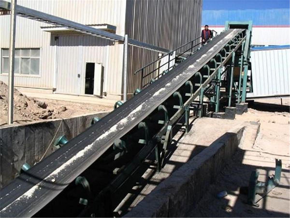 混凝土制砂皮带输送机