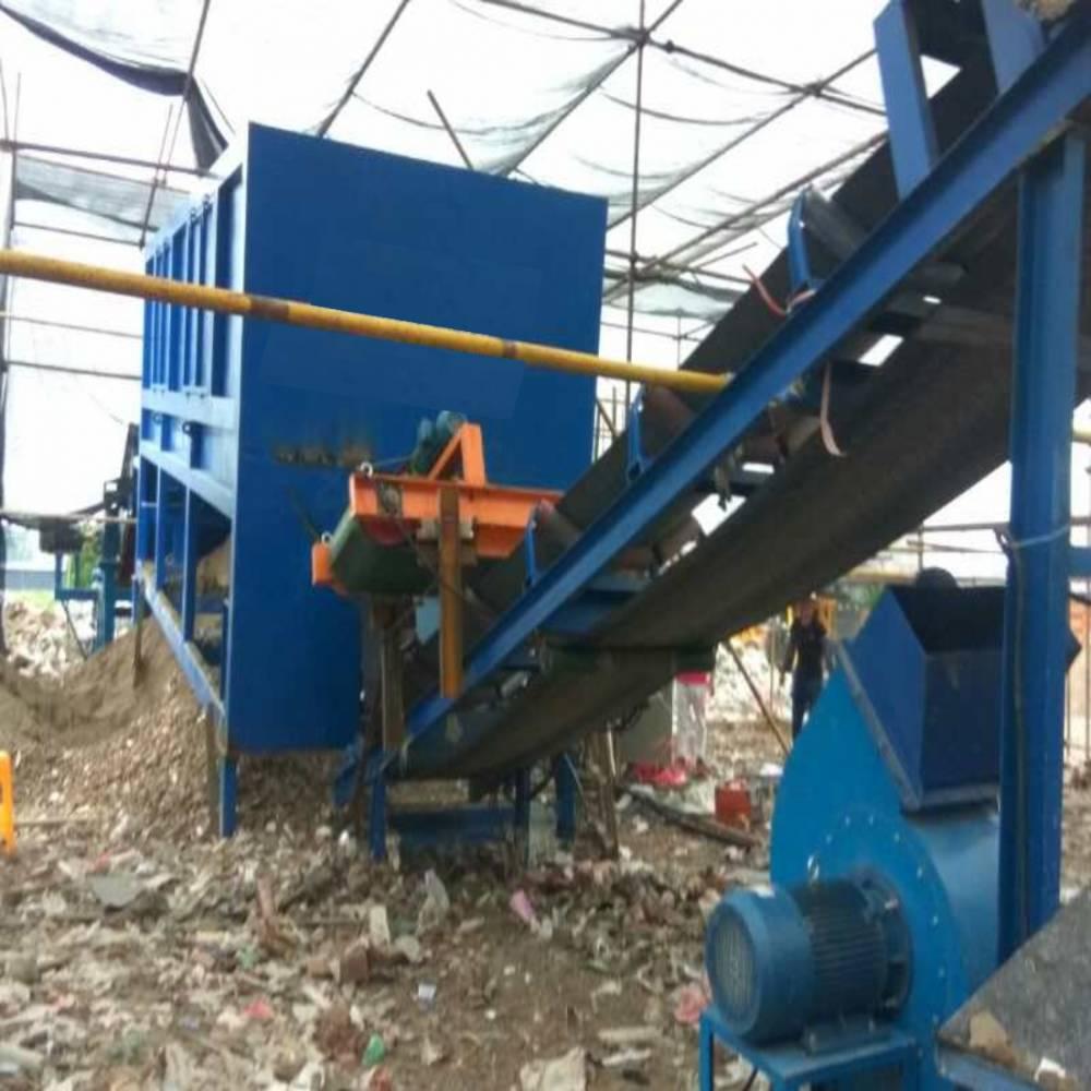 建筑垃圾移动破碎站 建筑垃圾移动破碎站厂家 建筑垃圾分拣设备
