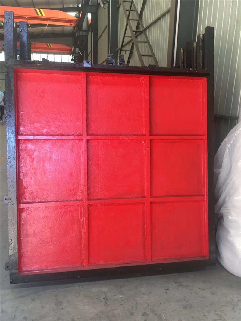 泵站专用铸铁闸门,拍门,回转式格栅除污机,清污机生产厂家