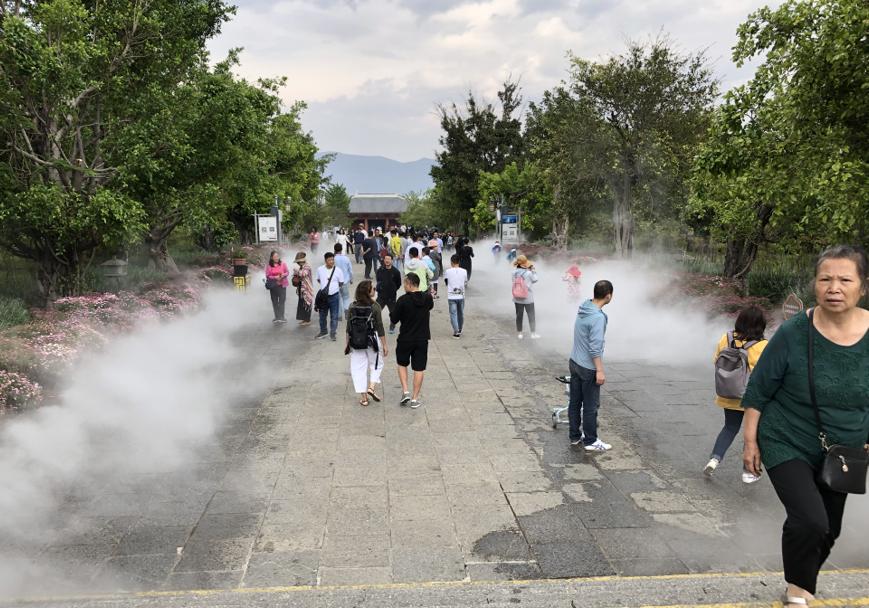四川重庆云南造雾景观设备造雾降温设备