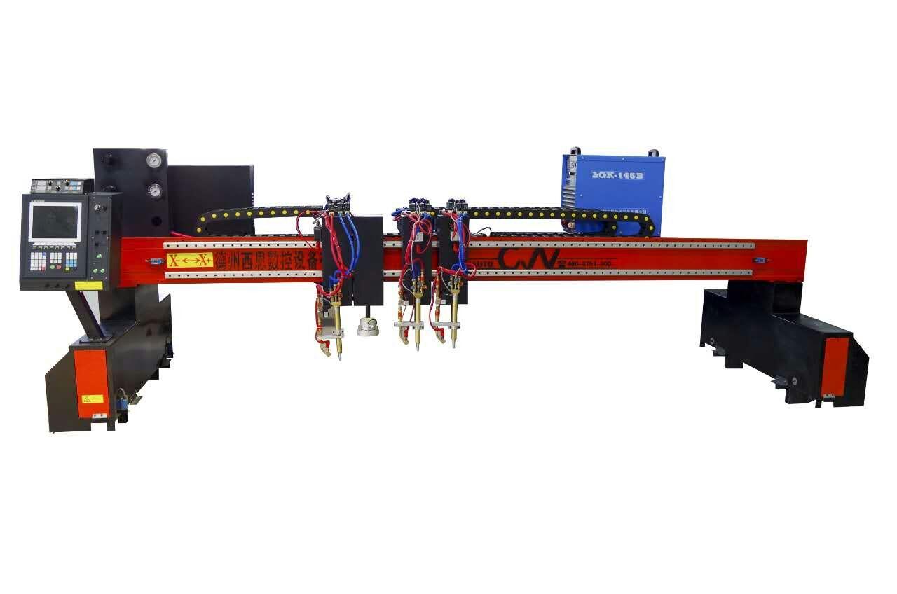 重型龙门式数控切割机 大型龙门式等离子火焰切割机