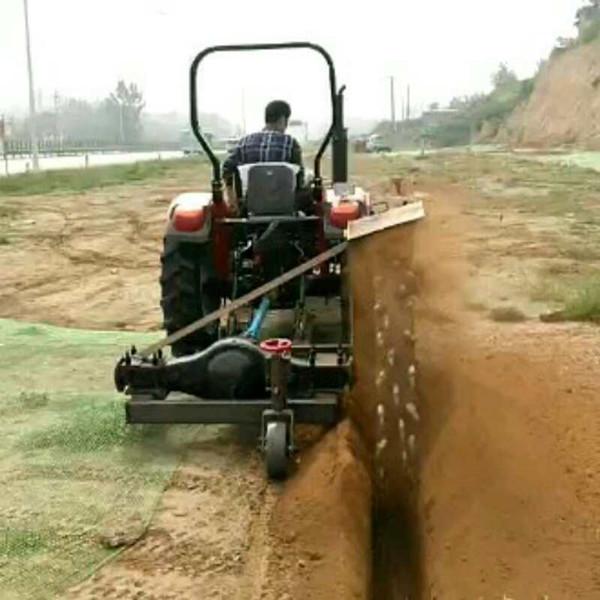 路沿挖沟专用机器设备-开沟机