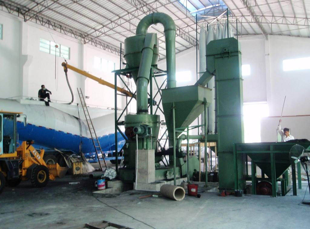 重钙石雷蒙磨粉机