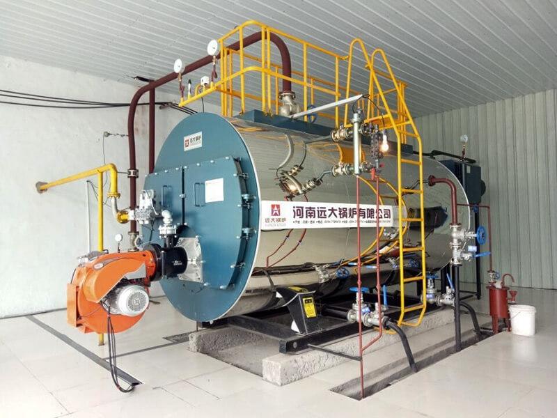 8吨燃气供暖锅炉 蒸汽燃气锅炉 燃气采暖锅炉