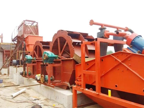 驻马店水轮式洗沙机械设备高效生产厂家直销