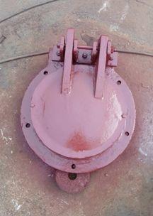 dn600圆拍门价格 铸铁圆拍门厂家  质量可靠 欢迎定制