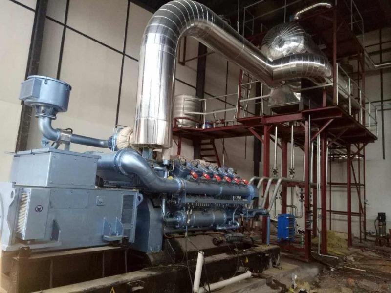 烟气余热回收热力系统