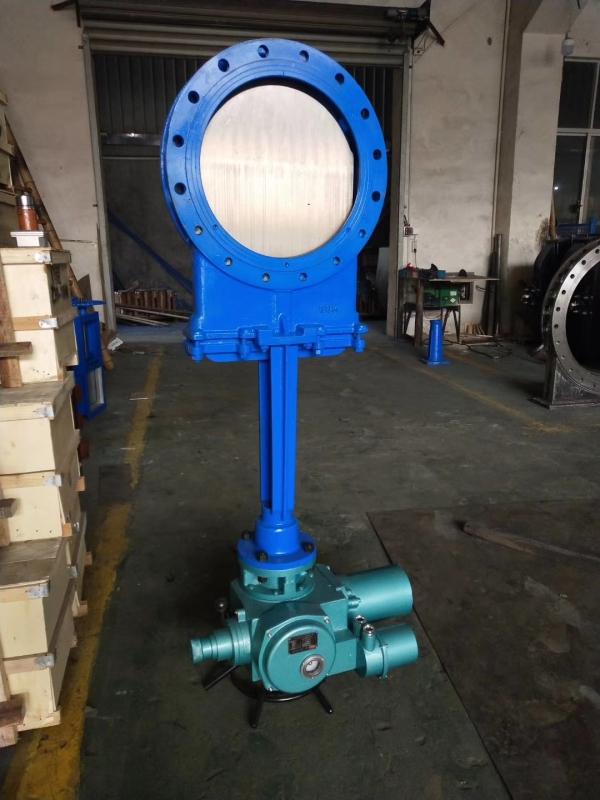 PZ973H/F/X电动刀型闸阀DN50-1200mm农工业自动化电动阀