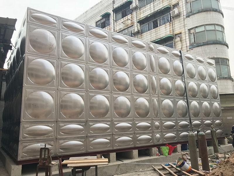 保温水箱304不锈钢水箱商用方形订做箱泵一体化消防水箱白钢组合