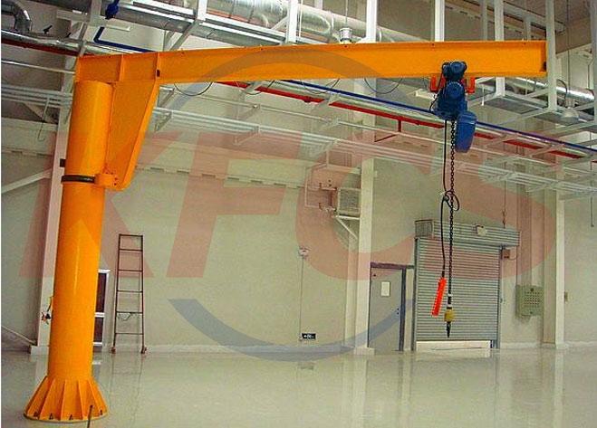 苏州360度立柱式悬臂起重机