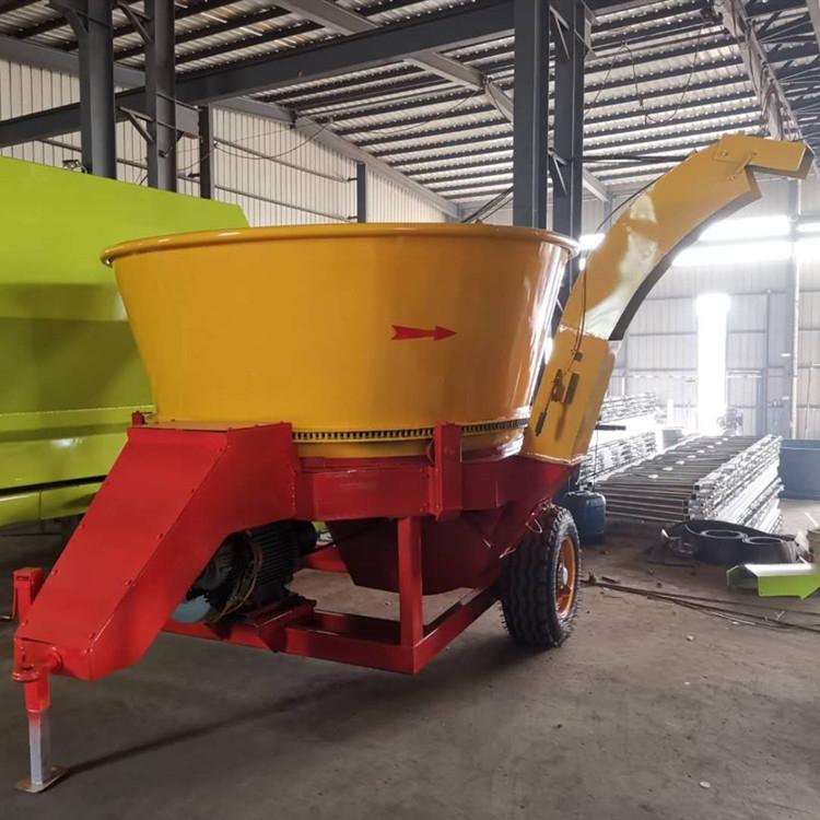 大型圆盘式 草捆粉碎机 玉米秸秆粉碎机