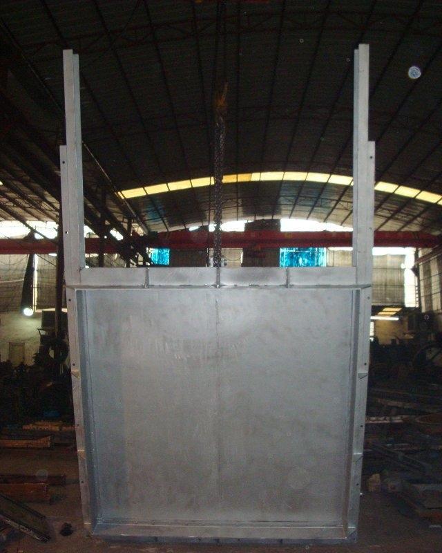 B(P)QZM不锈钢方闸门200-4000mm水处理控制调节水位阀