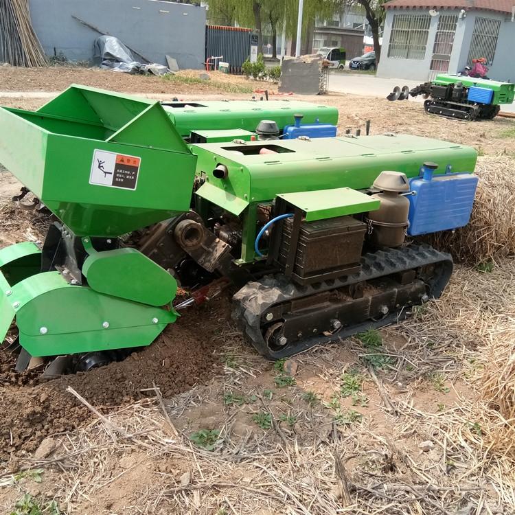 果园施肥开沟机 履带式开沟施肥回填一体机