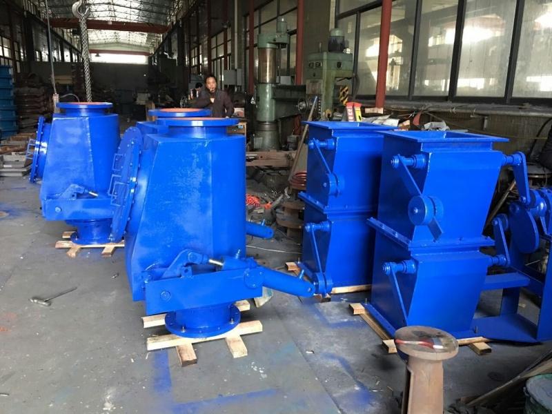 QP742Y -0.25液动均压放散阀DN200-800mm高炉放散管道密闭启闭阀