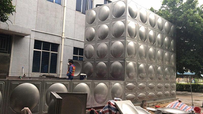 消防水箱 生活水箱 冷水箱 热水箱 现场焊接不锈钢水箱304不锈钢