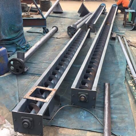 水泥用螺旋输送机 输送机选型报价材质 输送机厂家
