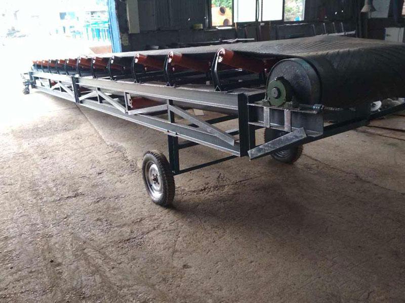 湿煤场专用皮带输送机 带式输送机厂家供应 皮带机优势特点