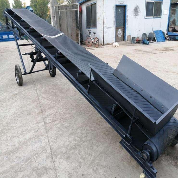 铜矿石大倾角输送机 皮带机厂家设计 输送机优势性能原理