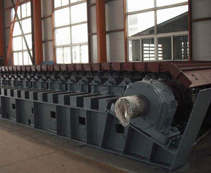 玻璃瓶链板输送机 板式喂料机厂家 工作原理价格优惠