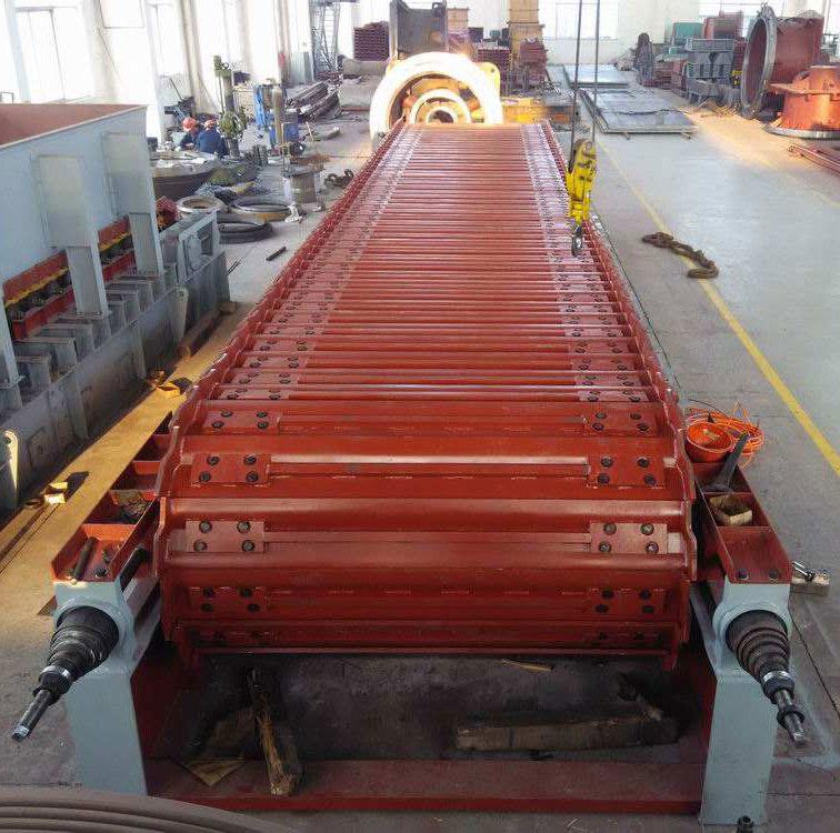 建材板链输送机 板式输送机厂家 鳞板机设计优势