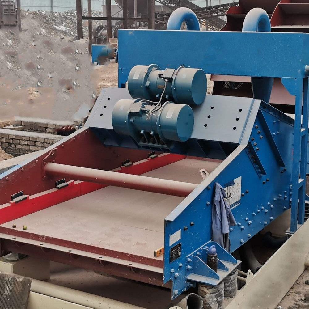 长石矿用脱水筛-尾矿脱水振动筛厂家直销-脱水筛优势产能