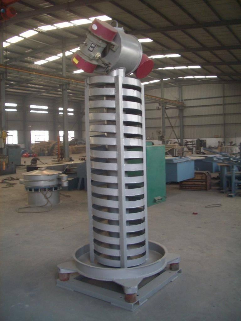 铬镁锌钡粉垂直输送机-振动垂直输送机厂家-提升机优势材质报价