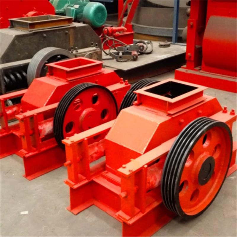 大型移动式对辊制砂机 多功能对辊制砂机厂家 岩石对辊制砂机价格