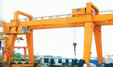A型50/10吨双梁吊钩门式起重机河南纽科伦起重