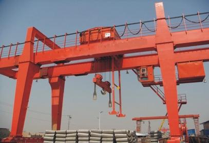 A型50/10吨双梁吊钩门式起重机维修保养 纽科伦起重