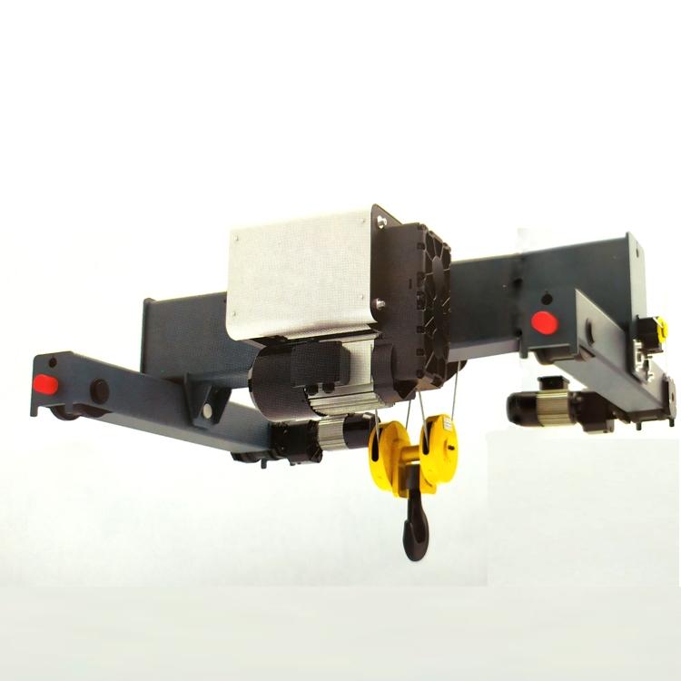 双梁小车式钢丝绳电动葫芦 起重器材生产厂家 产品详情