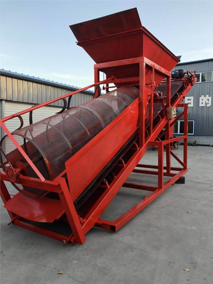 电动滚筒筛沙机-电动滚筒筛沙机参数-电动滚筒筛沙机厂家