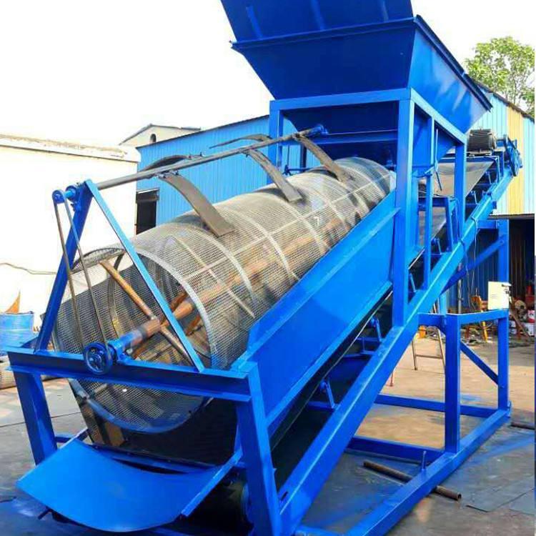 滚筒筛-含钾岩石滚筒筛厂家直销-参数调试安型号