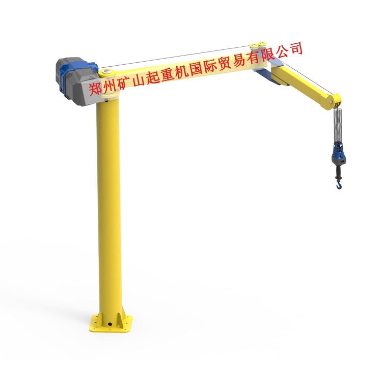 智能折臂式悬臂吊80-600kg  智能提升折臂起重机