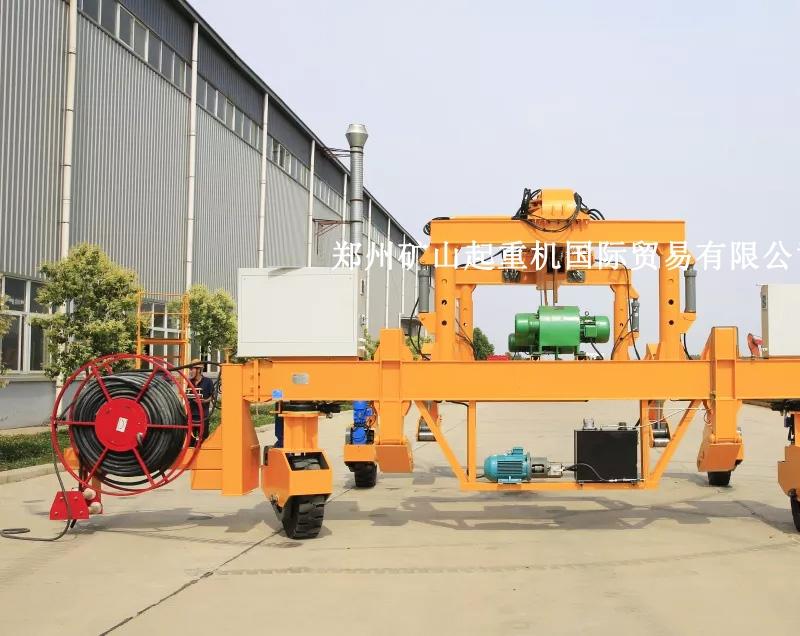 地铁轨道铺设轮胎式行车维修保养 生产厂家