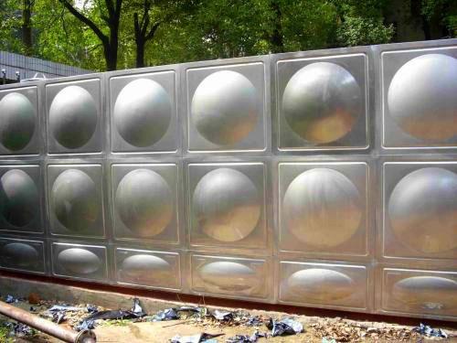 304加厚不锈钢水箱家用楼顶储水罐纯净水井水蓄水池水桶抖音 0.3吨卧式